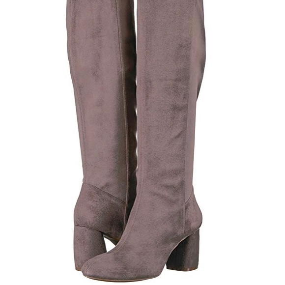 Nine West Shoes - NWOT Nine West Knee High Pull-On Grey Boots